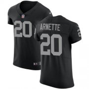 Wholesale Cheap Nike Raiders #20 Damon Arnette Black Team Color Men's Stitched NFL Vapor Untouchable Elite Jersey