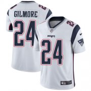 Wholesale Cheap Nike Patriots #24 Stephon Gilmore White Youth Stitched NFL Vapor Untouchable Limited Jersey