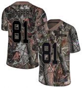 Wholesale Cheap Nike Browns #81 Austin Hooper Camo Youth Stitched NFL Limited Rush Realtree Jersey