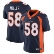 Wholesale Cheap Nike Broncos #58 Von Miller Blue Alternate Youth Stitched NFL Vapor Untouchable Limited Jersey
