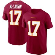 Wholesale Cheap Washington Redskins #17 Terry McLaurin Football Team Nike Player Name & Number T-Shirt Burgundy