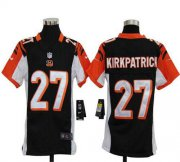 Wholesale Cheap Nike Bengals #27 Dre Kirkpatrick Black Team Color Youth Stitched NFL Elite Jersey