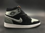 Wholesale Cheap Air Jordan 1 Retro High Aleali May Silver/Black-White