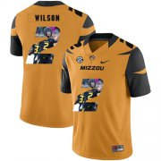 Wholesale Cheap Missouri Tigers 2 Micah Wilson Gold Nike Fashion College Football Jersey