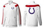 Wholesale Cheap NFL Indianapolis Colts Team Logo Jacket White