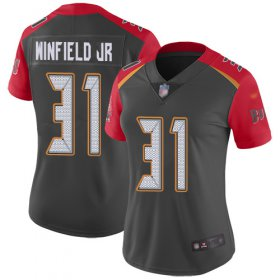 Wholesale Cheap Nike Buccaneers #31 Antoine Winfield Jr. Gray Women\'s Stitched NFL Limited Inverted Legend Jersey