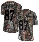 Wholesale Cheap Nike Colts #87 Reggie Wayne Camo Youth Stitched NFL Limited Rush Realtree Jersey