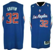 Wholesale Cheap Los Angeles Clippers #32 Blake Griffin Revolution 30 Swingman Blue Jersey