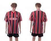 Wholesale Cheap Sao Paulo Blank Home Soccer Club Jersey