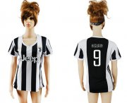 Wholesale Cheap Women's Juventus #9 Higuain Home Soccer Club Jersey
