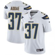 Wholesale Cheap Nike Chargers #37 Jahleel Addae White Men's Stitched NFL Vapor Untouchable Limited Jersey