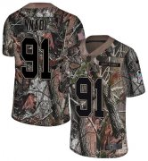Wholesale Cheap Nike Chiefs #91 Derrick Nnadi Camo Men's Stitched NFL Limited Rush Realtree Jersey