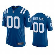 Wholesale Cheap Indianapolis Colts Custom Men's Nike Royal 2020 Vapor Limited Jersey
