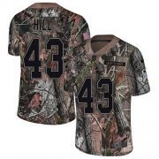 Wholesale Cheap Nike Ravens #43 Justice Hill Camo Youth Stitched NFL Limited Rush Realtree Jersey