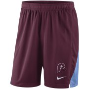 Wholesale Cheap Philadelphia Phillies Nike Franchise Performance Shorts Maroon