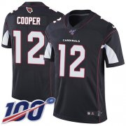 Wholesale Cheap Nike Cardinals #12 Pharoh Cooper Black Alternate Men's Stitched NFL 100th Season Vapor Limited Jersey