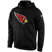 Wholesale Cheap Men's Arizona Cardinals Nike Black KO Logo Essential Hoodie