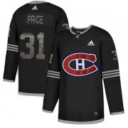 Wholesale Cheap Adidas Canadiens #31 Carey Price Black Authentic Classic Stitched NHL Jersey