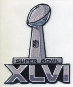 Wholesale Cheap Stitched Super Bowl 46 XLVI Jersey Patch New England Patriots vs New York Giants