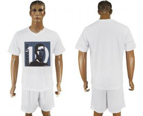 Wholesale Cheap Chelsea Blank White Soccer Club T-Shirt_1