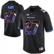 Wholesale Cheap Boise State Broncos 27 Jay Ajayi Black With Portrait Print College Football Jersey