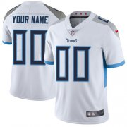 Wholesale Cheap Nike Tennessee Titans Customized White Stitched Vapor Untouchable Limited Men's NFL Jersey