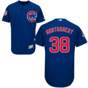 Wholesale Cheap Cubs #38 Mike Montgomery Blue Flexbase Authentic Collection Stitched MLB Jersey