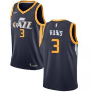 Wholesale Cheap Nike Jazz #3 Ricky Rubio Navy NBA Swingman Icon Edition Jersey