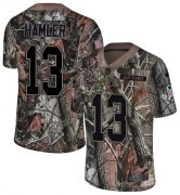 Wholesale Cheap Nike Broncos #13 KJ Hamler Camo Youth Stitched NFL Limited Rush Realtree Jersey