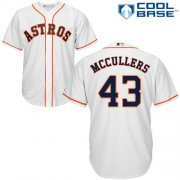 Wholesale Cheap Astros #43 Lance McCullers White Cool Base Stitched Youth MLB Jersey