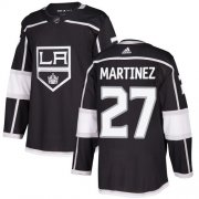 Wholesale Cheap Adidas Kings #27 Alec Martinez Black Home Authentic Stitched NHL Jersey