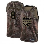 Wholesale Cheap Women's Sacramento Kings #8 Bogdan Bogdanovic Camo Basketball Swingman Realtree Collection Jersey