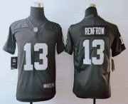Wholesale Cheap Youth Las Vegas Raiders #13 Hunter Renfrow Black 2019 Vapor Untouchable Stitched NFL Nike Limited Jersey