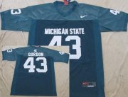 Wholesale Cheap Michigan State Spartans #43 Eric Gordon Green Jersey