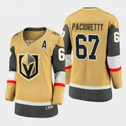 Cheap Vegas Golden Knights #67 Max Pacioretty Women 2020-21 Player Alternate Stitched NHL Jersey Gold?