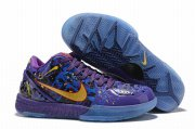 Wholesale Cheap Nike Kobe 4 Shoes Purple Colors