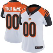 Wholesale Cheap Nike Cincinnati Bengals Customized White Stitched Vapor Untouchable Limited Women's NFL Jersey