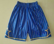 Wholesale Cheap Men's Orlando Magic Blue 1994-95 Hardwood Classics Soul Swingman Throwback Shorts