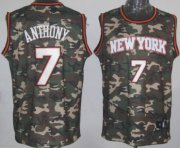 Wholesale Cheap New York Knicks #7 Carmelo Anthony Camo Fashion Jersey