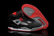 Wholesale Cheap Air Jordan 3.5 Spizike Retro Shoes Black/grey-red