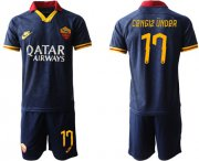 Wholesale Cheap Roma #17 Cengiz Under Third Soccer Club Jersey