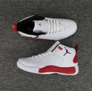 Wholesale Cheap Jordan Jumpman Pro Shoes White/Red-Black