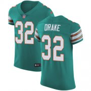 Wholesale Cheap Nike Dolphins #32 Kenyan Drake Aqua Green Alternate Men's Stitched NFL Vapor Untouchable Elite Jersey