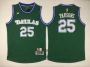 Wholesale Cheap Men's Dallas Mavericks #25 Chandler Parsons Revolution 30 Swingman 2015-16 Green Jersey