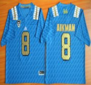 Wholesale Cheap UCLA Bruins #8 Troy Aikman Blue 2015 College Football Jersey