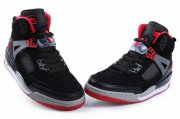 Wholesale Cheap Air Jordan 3.5 Spizike Shoes Black/gray-red