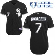 Wholesale Cheap White Sox #7 Tim Anderson Black Alternate Cool Base Stitched Youth MLB Jersey