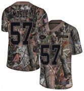 Wholesale Cheap Nike Jets #57 C.J. Mosley Camo Men's Stitched NFL Limited Rush Realtree Jersey