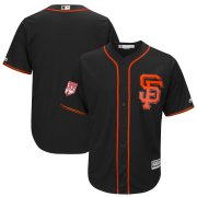 Wholesale Cheap Giants Blank Black 2019 Spring Training Cool Base Stitched MLB Jersey