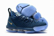 Wholesale Cheap Nike Lebron James 16 Air Cushion Shoes Philippines Blue Gold